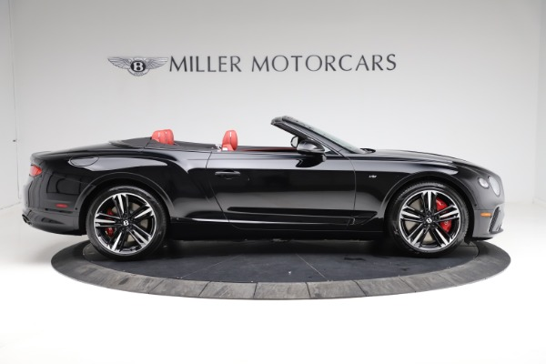 New 2021 Bentley Continental GT V8 for sale $263,905 at Maserati of Greenwich in Greenwich CT 06830 8