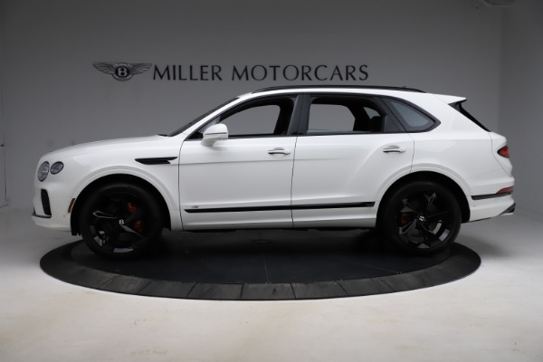New 2021 Bentley Bentayga V8 for sale Call for price at Maserati of Greenwich in Greenwich CT 06830 3