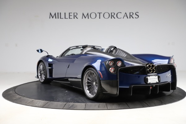 Used 2017 Pagani Huayra Roadster for sale Call for price at Maserati of Greenwich in Greenwich CT 06830 5