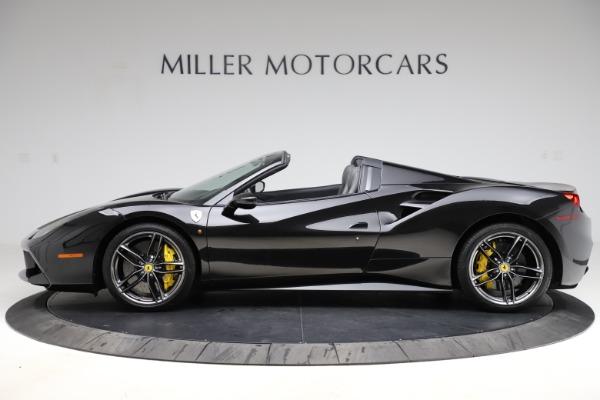 Used 2017 Ferrari 488 Spider for sale $284,900 at Maserati of Greenwich in Greenwich CT 06830 3