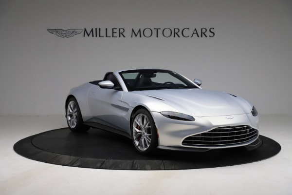 New 2021 Aston Martin Vantage Roadster for sale $184,286 at Maserati of Greenwich in Greenwich CT 06830 10
