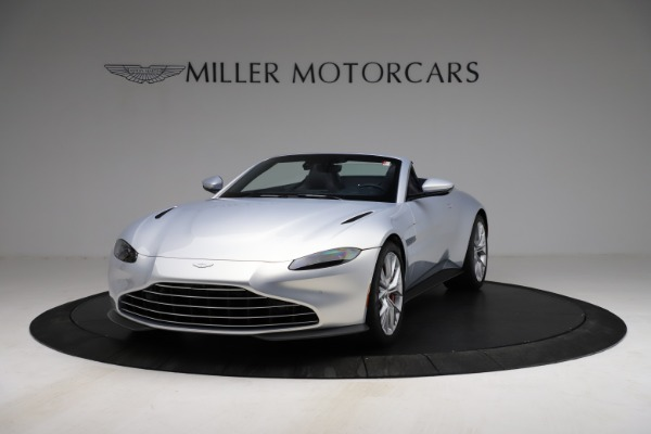 New 2021 Aston Martin Vantage Roadster for sale $184,286 at Maserati of Greenwich in Greenwich CT 06830 12