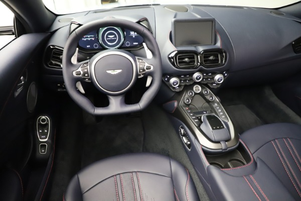 New 2021 Aston Martin Vantage Roadster for sale $184,286 at Maserati of Greenwich in Greenwich CT 06830 13