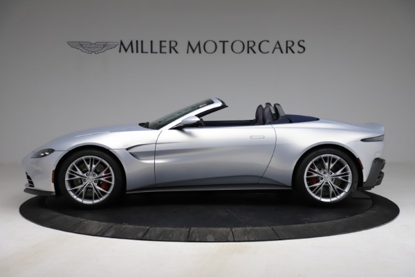New 2021 Aston Martin Vantage Roadster for sale $184,286 at Maserati of Greenwich in Greenwich CT 06830 2