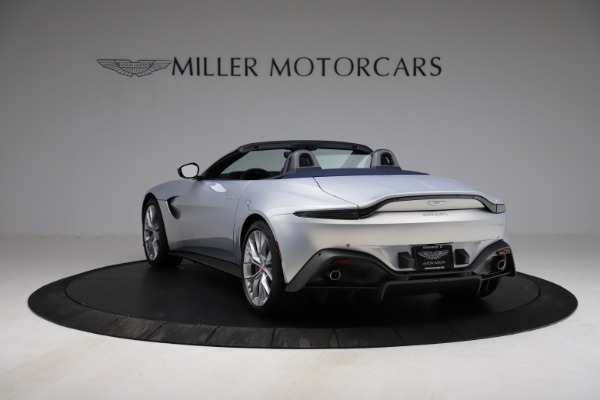 New 2021 Aston Martin Vantage Roadster for sale $184,286 at Maserati of Greenwich in Greenwich CT 06830 4