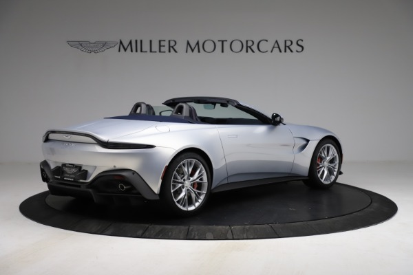 New 2021 Aston Martin Vantage Roadster for sale $184,286 at Maserati of Greenwich in Greenwich CT 06830 7