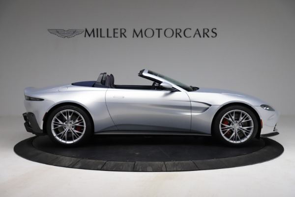 New 2021 Aston Martin Vantage Roadster for sale $184,286 at Maserati of Greenwich in Greenwich CT 06830 8