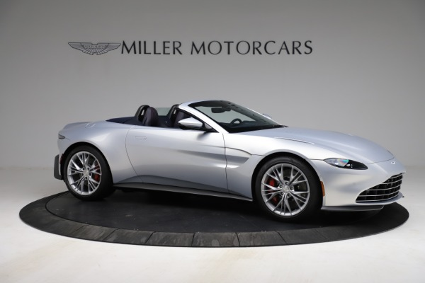 New 2021 Aston Martin Vantage Roadster for sale $184,286 at Maserati of Greenwich in Greenwich CT 06830 9