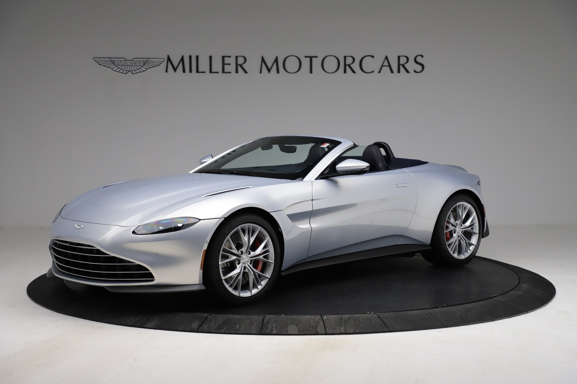 New 2021 Aston Martin Vantage Roadster for sale $184,286 at Maserati of Greenwich in Greenwich CT 06830 1