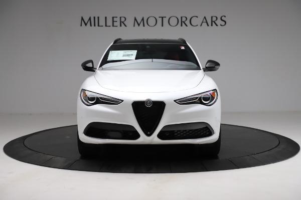 New 2021 Alfa Romeo Stelvio Ti Sport Q4 for sale $58,740 at Maserati of Greenwich in Greenwich CT 06830 12