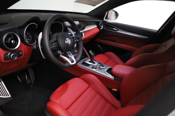 New 2021 Alfa Romeo Stelvio Ti Sport Q4 for sale $58,740 at Maserati of Greenwich in Greenwich CT 06830 13