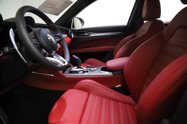 New 2021 Alfa Romeo Stelvio Ti Sport Q4 for sale $58,740 at Maserati of Greenwich in Greenwich CT 06830 14