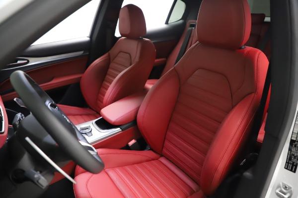 New 2021 Alfa Romeo Stelvio Ti Sport Q4 for sale $58,740 at Maserati of Greenwich in Greenwich CT 06830 15