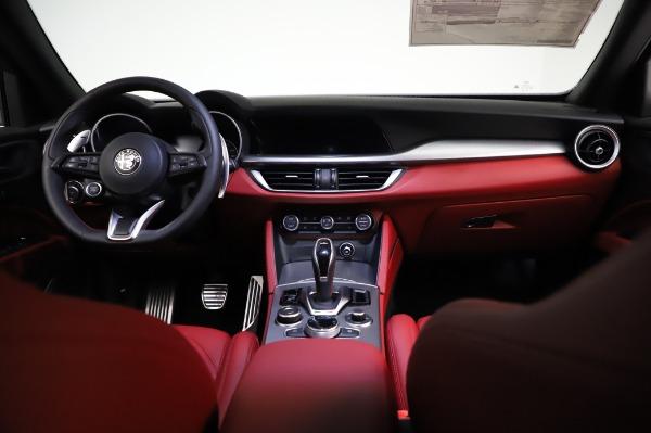 New 2021 Alfa Romeo Stelvio Ti Sport Q4 for sale $58,740 at Maserati of Greenwich in Greenwich CT 06830 16