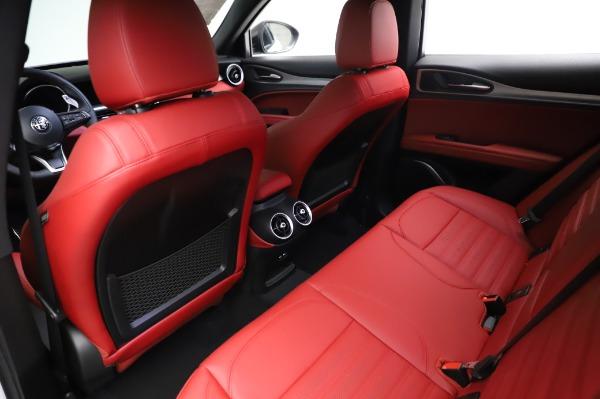 New 2021 Alfa Romeo Stelvio Ti Sport Q4 for sale $58,740 at Maserati of Greenwich in Greenwich CT 06830 18