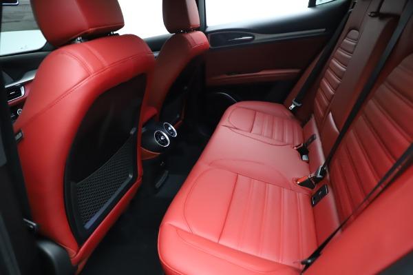New 2021 Alfa Romeo Stelvio Ti Sport Q4 for sale $58,740 at Maserati of Greenwich in Greenwich CT 06830 19