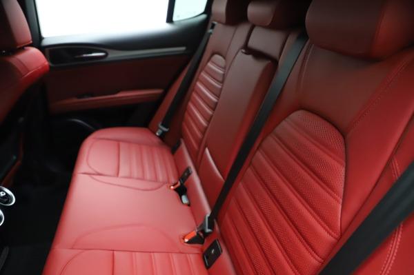 New 2021 Alfa Romeo Stelvio Ti Sport Q4 for sale $58,740 at Maserati of Greenwich in Greenwich CT 06830 20