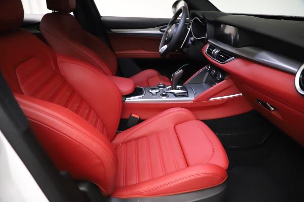 New 2021 Alfa Romeo Stelvio Ti Sport Q4 for sale $58,740 at Maserati of Greenwich in Greenwich CT 06830 23