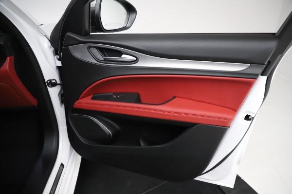 New 2021 Alfa Romeo Stelvio Ti Sport Q4 for sale $58,740 at Maserati of Greenwich in Greenwich CT 06830 24