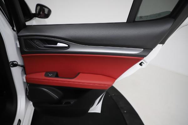 New 2021 Alfa Romeo Stelvio Ti Sport Q4 for sale $58,740 at Maserati of Greenwich in Greenwich CT 06830 27