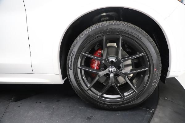 New 2021 Alfa Romeo Stelvio Ti Sport Q4 for sale $58,740 at Maserati of Greenwich in Greenwich CT 06830 28