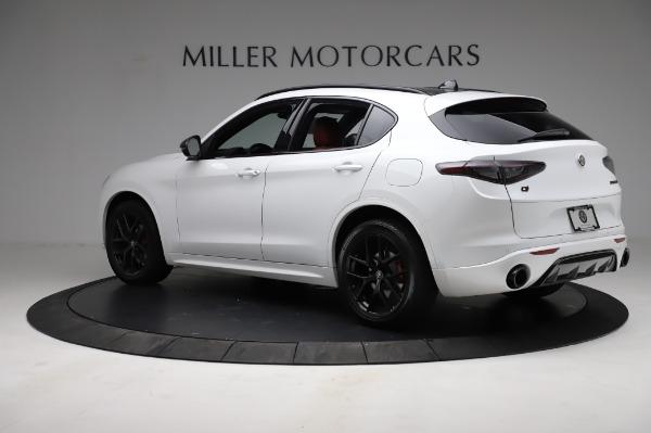New 2021 Alfa Romeo Stelvio Ti Sport Q4 for sale $58,740 at Maserati of Greenwich in Greenwich CT 06830 4