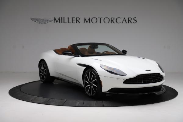 New 2021 Aston Martin DB11 Volante for sale $272,686 at Maserati of Greenwich in Greenwich CT 06830 10