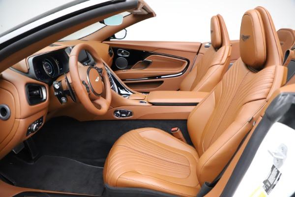 New 2021 Aston Martin DB11 Volante for sale $272,686 at Maserati of Greenwich in Greenwich CT 06830 18