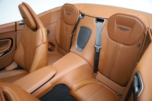 New 2021 Aston Martin DB11 Volante for sale $272,686 at Maserati of Greenwich in Greenwich CT 06830 21