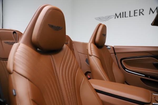New 2021 Aston Martin DB11 Volante for sale $272,686 at Maserati of Greenwich in Greenwich CT 06830 24