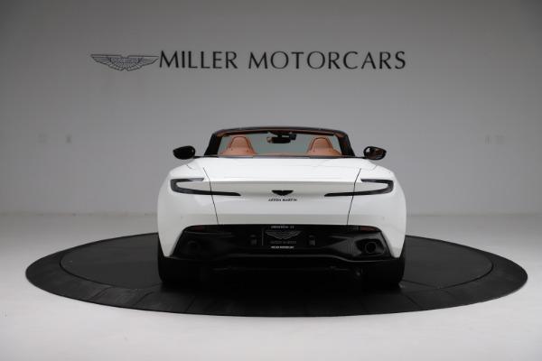 New 2021 Aston Martin DB11 Volante for sale $272,686 at Maserati of Greenwich in Greenwich CT 06830 5