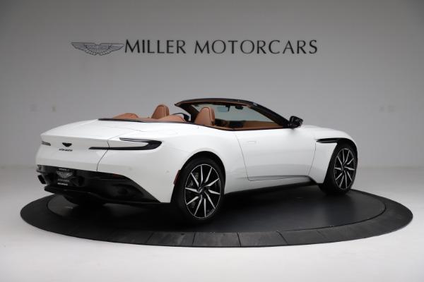 New 2021 Aston Martin DB11 Volante for sale $272,686 at Maserati of Greenwich in Greenwich CT 06830 7