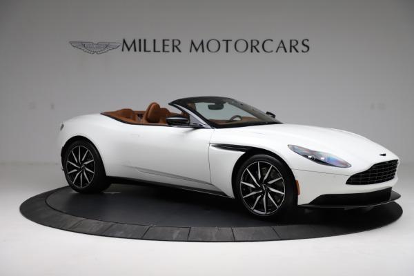 New 2021 Aston Martin DB11 Volante for sale $272,686 at Maserati of Greenwich in Greenwich CT 06830 9