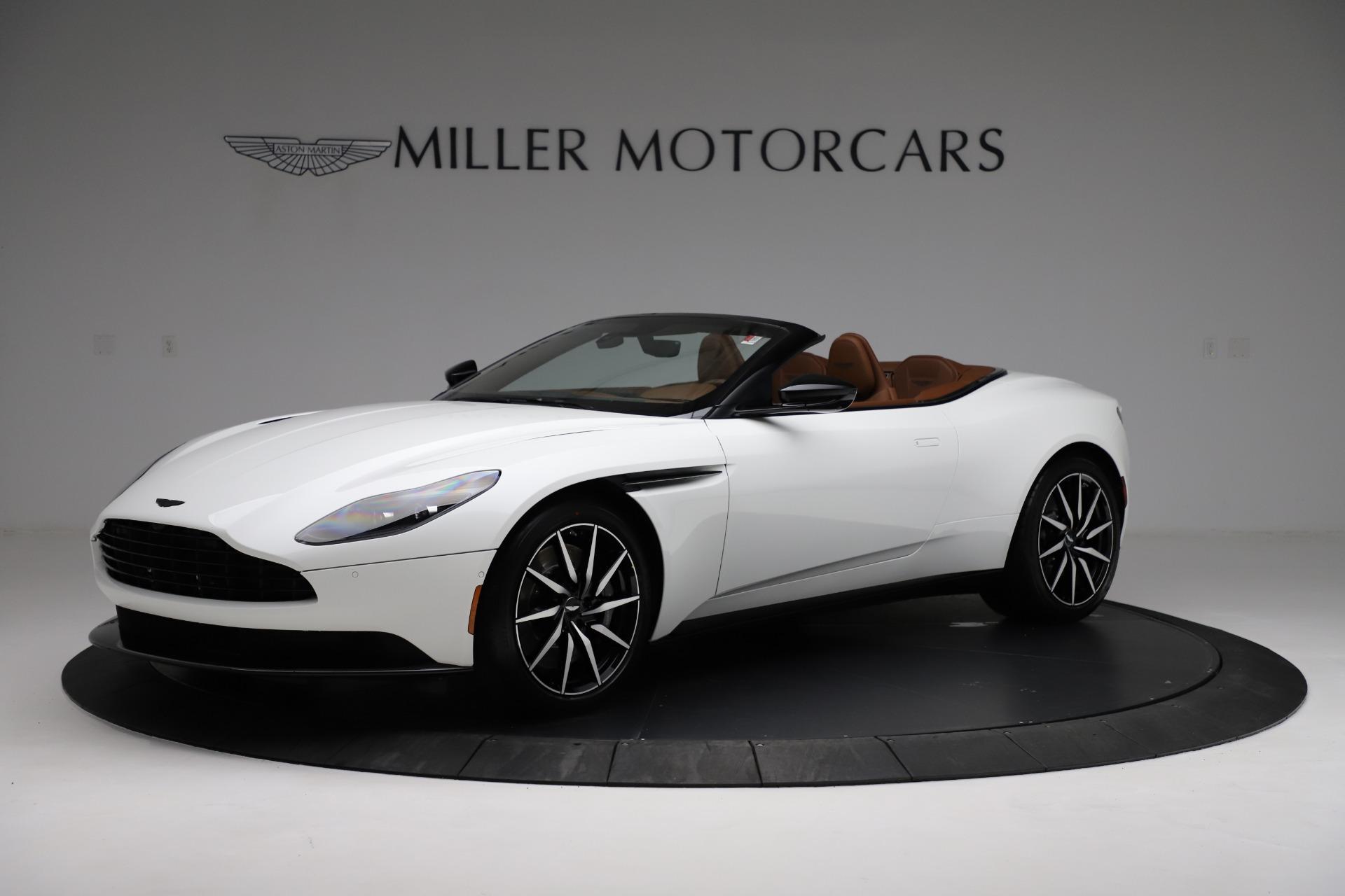 New 2021 Aston Martin DB11 Volante for sale $272,686 at Maserati of Greenwich in Greenwich CT 06830 1