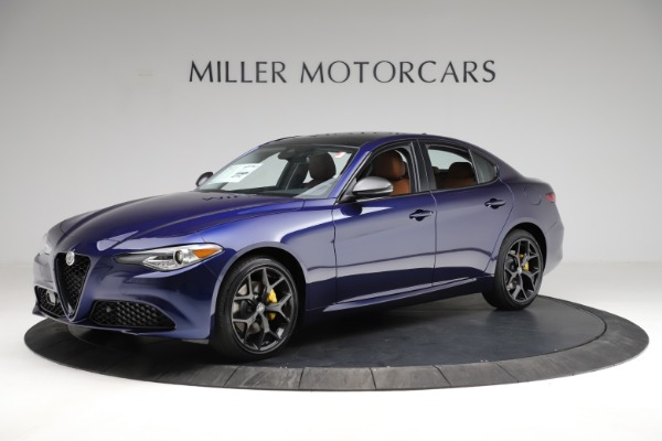 New 2021 Alfa Romeo Giulia Ti Q4 for sale $51,350 at Maserati of Greenwich in Greenwich CT 06830 2