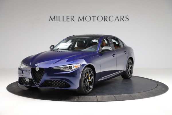 New 2021 Alfa Romeo Giulia Ti Q4 for sale $51,350 at Maserati of Greenwich in Greenwich CT 06830 1