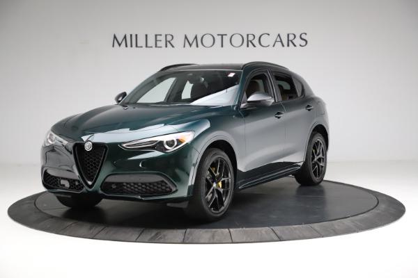 New 2021 Alfa Romeo Stelvio Ti Sport Q4 for sale $56,400 at Maserati of Greenwich in Greenwich CT 06830 2