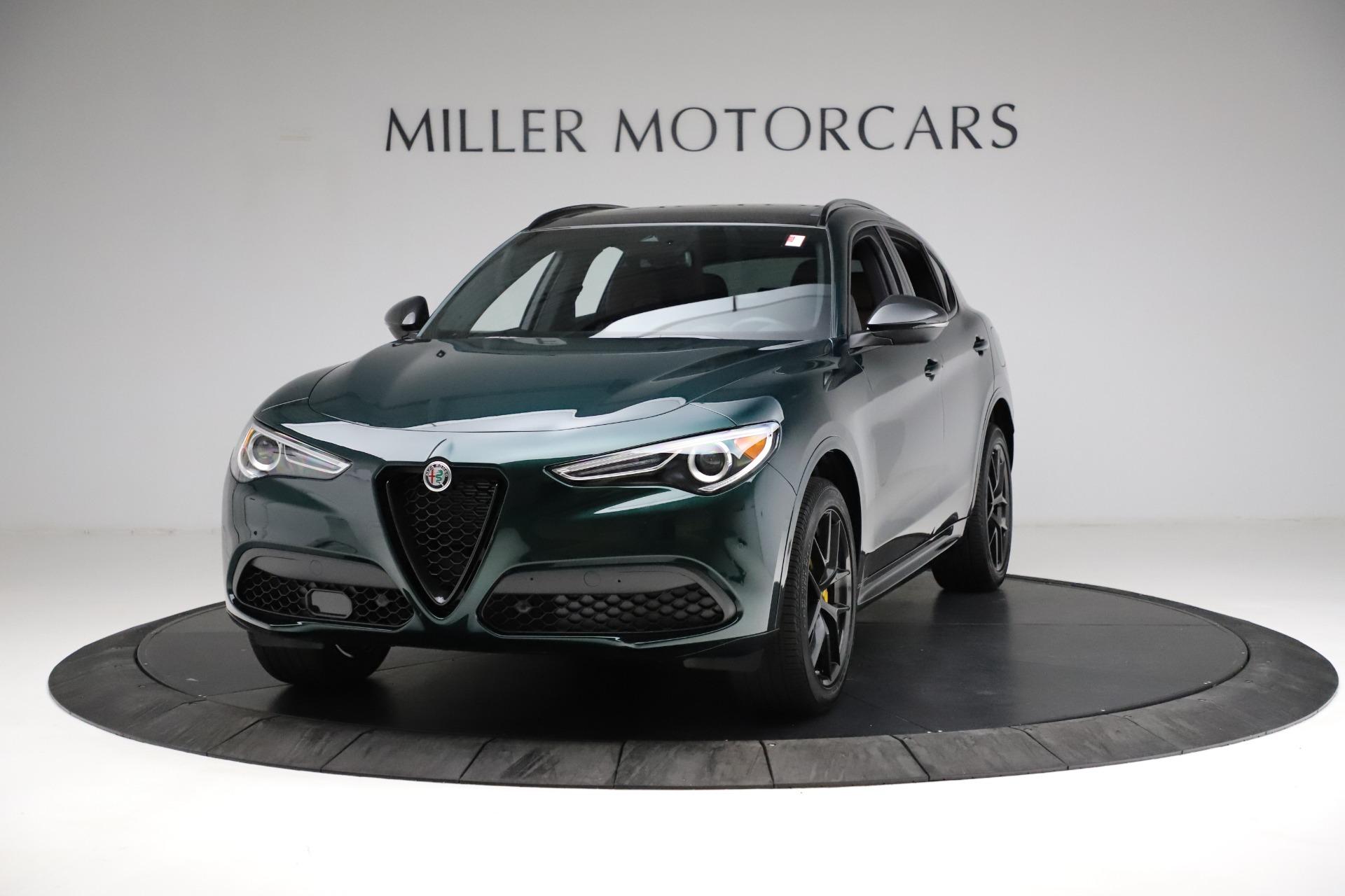 New 2021 Alfa Romeo Stelvio Ti Sport Q4 for sale $56,400 at Maserati of Greenwich in Greenwich CT 06830 1