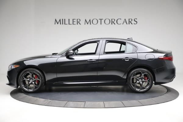 New 2021 Alfa Romeo Giulia Ti Sport Q4 for sale $53,850 at Maserati of Greenwich in Greenwich CT 06830 3