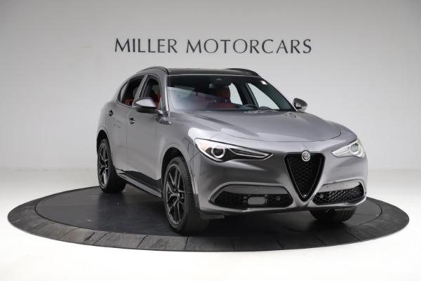 New 2021 Alfa Romeo Stelvio Ti Sport Q4 for sale $56,150 at Maserati of Greenwich in Greenwich CT 06830 12