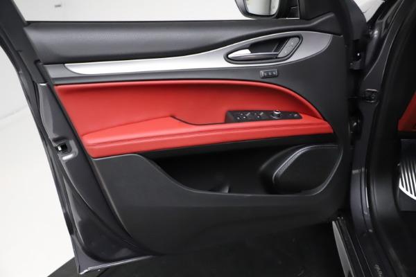 New 2021 Alfa Romeo Stelvio Ti Sport Q4 for sale $56,150 at Maserati of Greenwich in Greenwich CT 06830 17