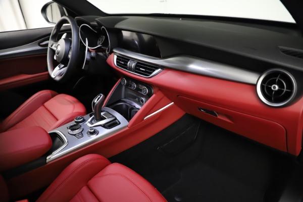 New 2021 Alfa Romeo Stelvio Ti Sport Q4 for sale $56,150 at Maserati of Greenwich in Greenwich CT 06830 22