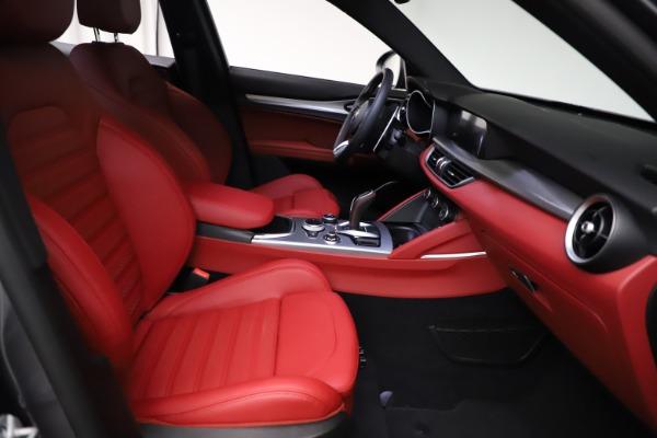 New 2021 Alfa Romeo Stelvio Ti Sport Q4 for sale $56,150 at Maserati of Greenwich in Greenwich CT 06830 23