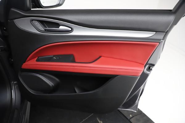 New 2021 Alfa Romeo Stelvio Ti Sport Q4 for sale $56,150 at Maserati of Greenwich in Greenwich CT 06830 24