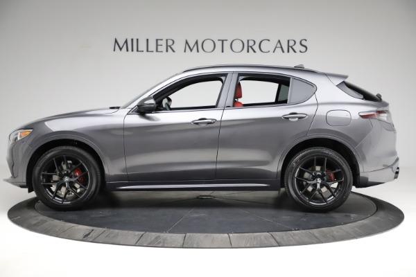 New 2021 Alfa Romeo Stelvio Ti Sport Q4 for sale $56,150 at Maserati of Greenwich in Greenwich CT 06830 3