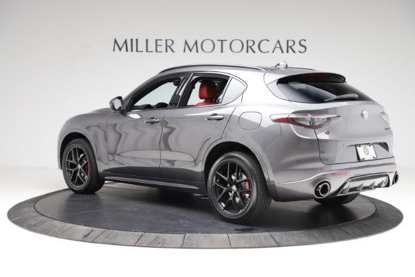 New 2021 Alfa Romeo Stelvio Ti Sport Q4 for sale $56,150 at Maserati of Greenwich in Greenwich CT 06830 4