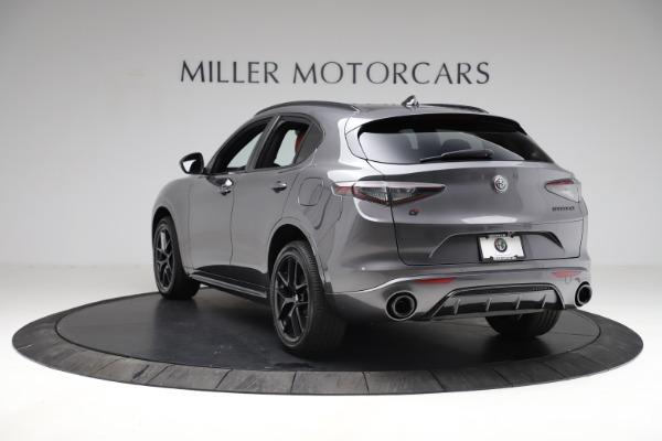New 2021 Alfa Romeo Stelvio Ti Sport Q4 for sale $56,150 at Maserati of Greenwich in Greenwich CT 06830 5