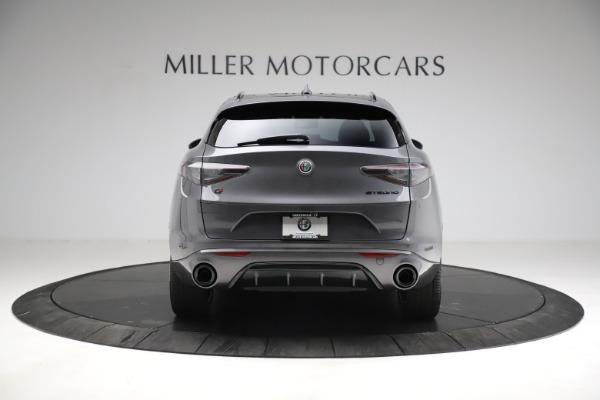New 2021 Alfa Romeo Stelvio Ti Sport Q4 for sale $56,150 at Maserati of Greenwich in Greenwich CT 06830 6
