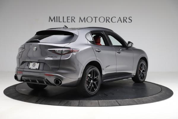 New 2021 Alfa Romeo Stelvio Ti Sport Q4 for sale $56,150 at Maserati of Greenwich in Greenwich CT 06830 7
