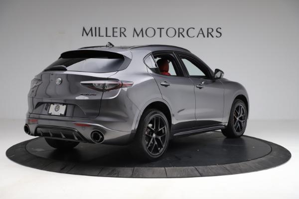 New 2021 Alfa Romeo Stelvio Ti Sport Q4 for sale $56,150 at Maserati of Greenwich in Greenwich CT 06830 8